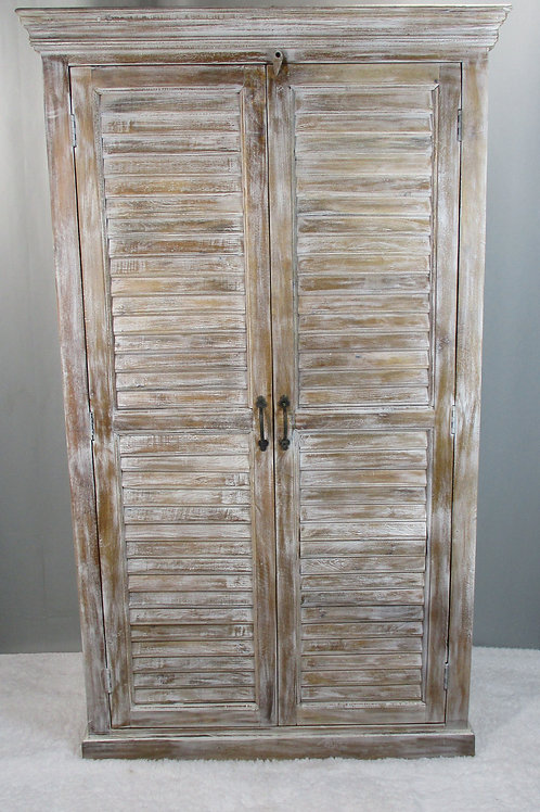 Mango Wood Armoire Wide (MDA-105Wide)