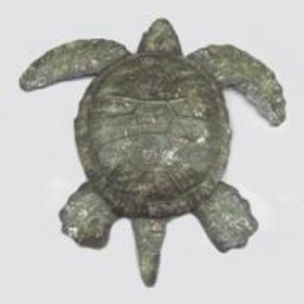 Green Turtle Wall Decor