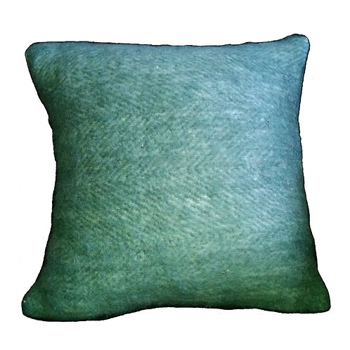 Lime Woven Blend Throw Pillow