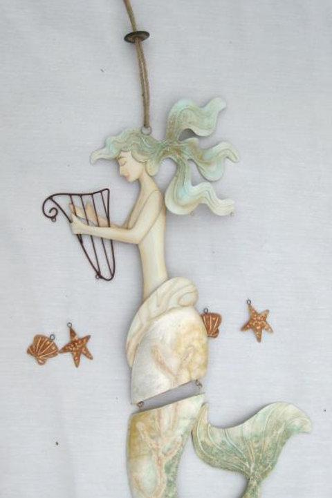 Musical Mermaid Wind Chime