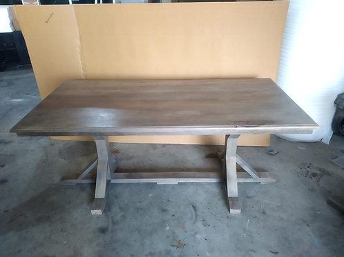 Mango Wood Natural Finish Dining Table