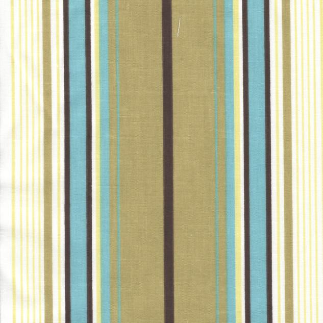 Brown Blue Stripe