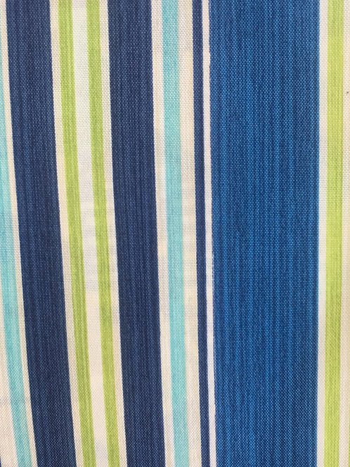 Saladino Stripe Aquamarine Pillow