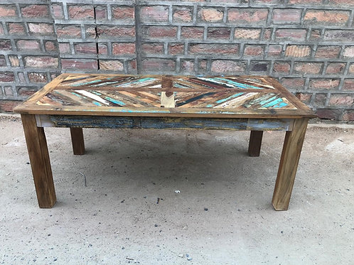 Indian Reclaimed Wood Dining-Room Table (MDA-134)