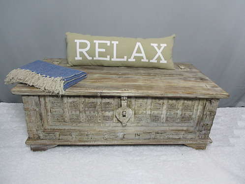 Old Wood Trunk Box (MDA-112)