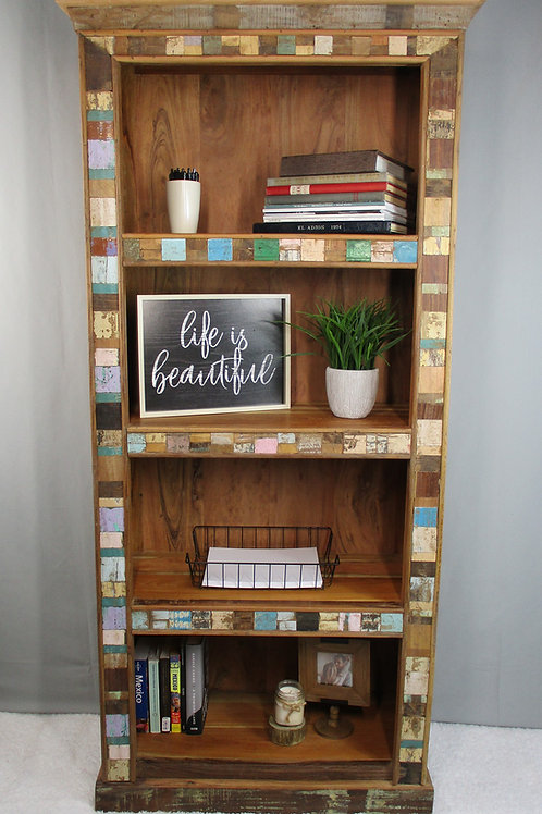 Reclaimed Bookshelf