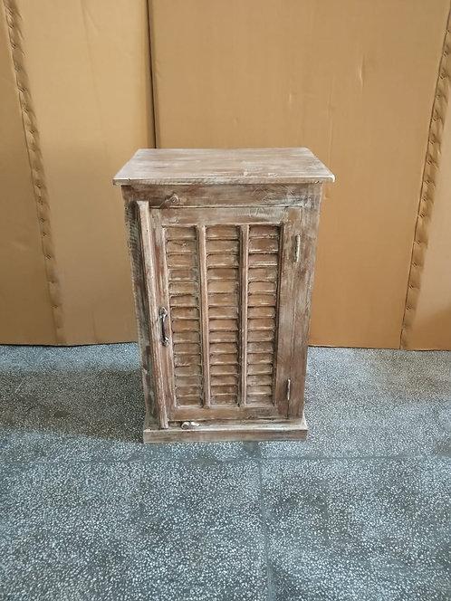 Mango Wood Shutter Door Kitchen Storage Unit