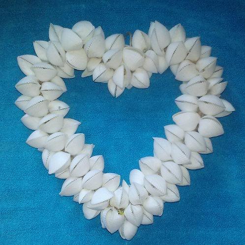 Shell Heart Wreath