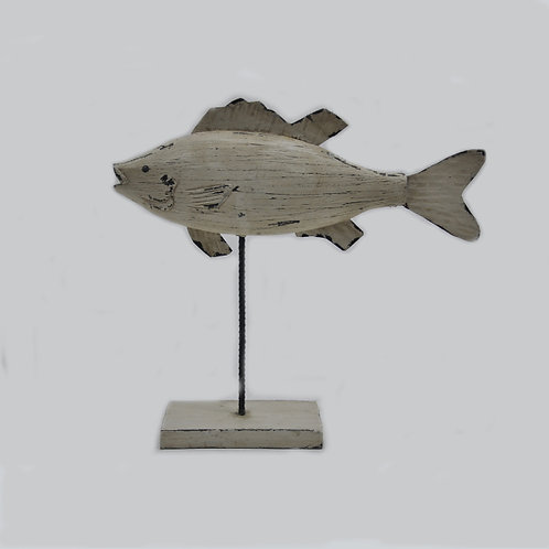 Wooden Fish Table Top Decor