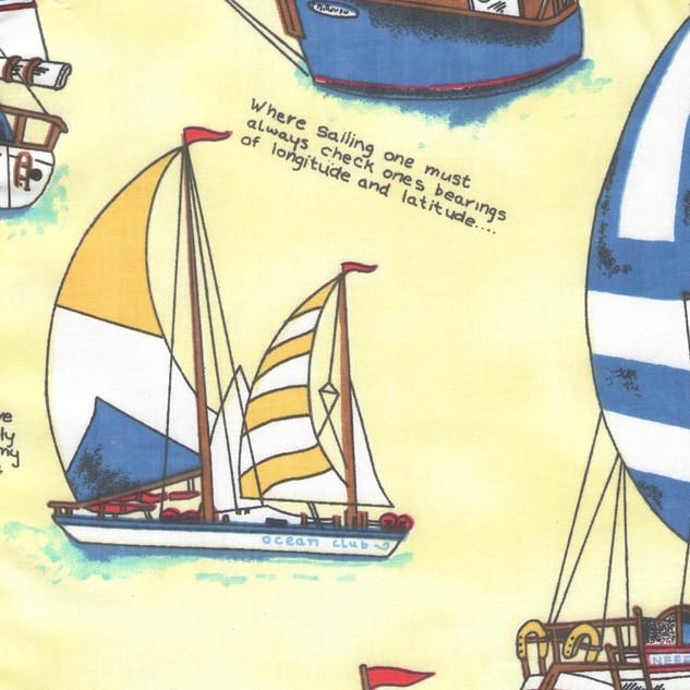 Yellow Sailboat