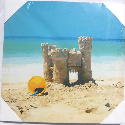 """Sand Castle 12""""x12"""""""