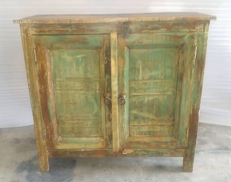 Indian Reclaimed Wood Storage Cabinet