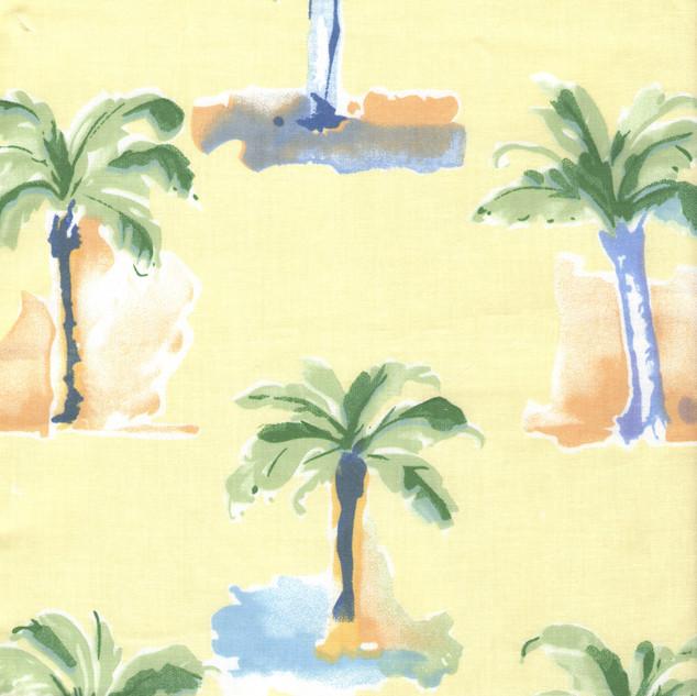 Modern Palm Yellow