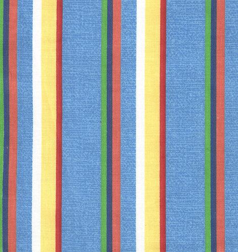 Bright Multi Stripe Fabric