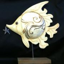 Fish Table Top Decor (Long Fin)