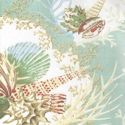 Aqua Sealife Fabric