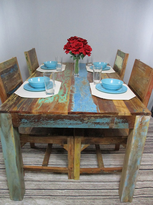 Multi Colored Dining Room Table (MDA-20-20)