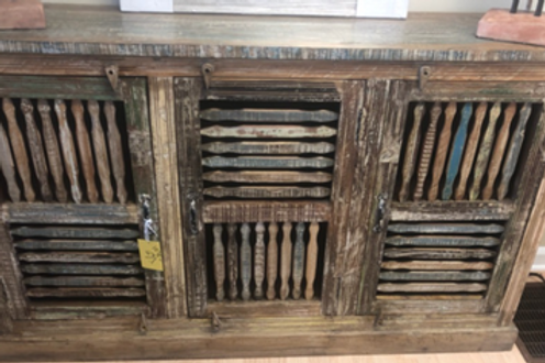 Patterned Wood Sideboard (MDA-20-302)