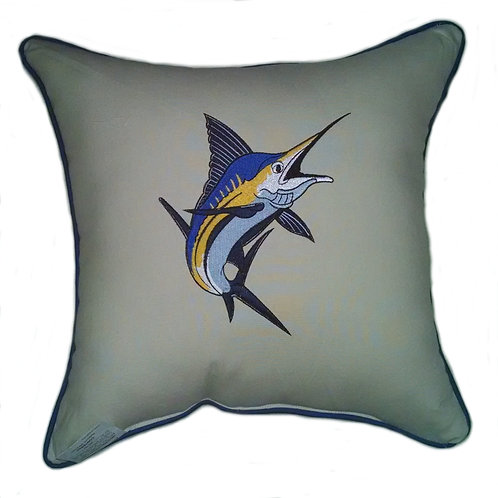 Marlin Throw Pillow