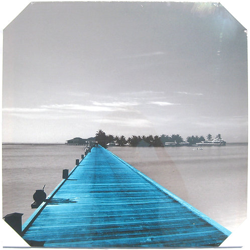 Blue Pier 20x20