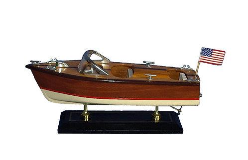 White Bottom Speed Boat