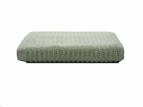 Milan Sage Green Bath Towel