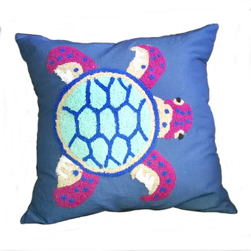 Sea Turtle Pillow Cover