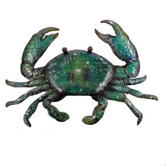 Metal Crab Wall Decor