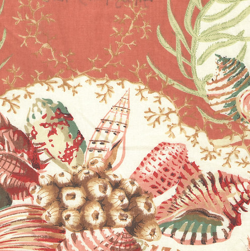 Coral Sealife Fabric