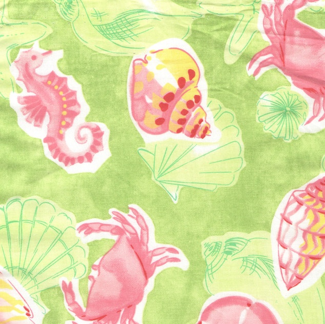 Pink Green Sealife