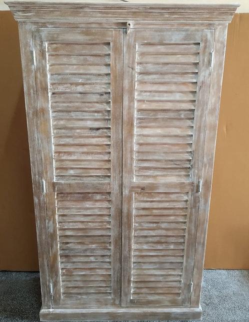 Mango Wood Natural Finish Armoire