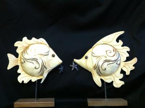Fish Table Top Decor Set of 2