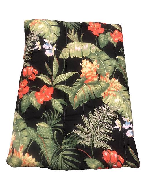 Black Tropical Pet Bed