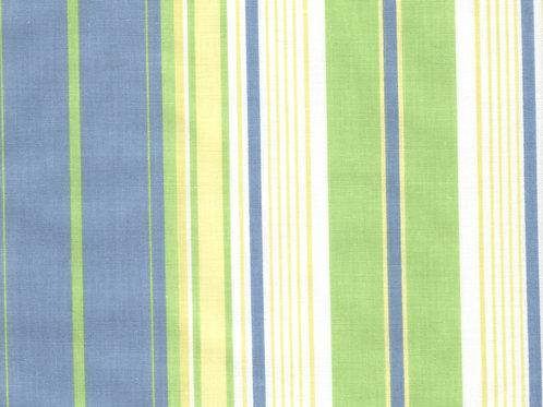 Green/Blue Stripe Pillow