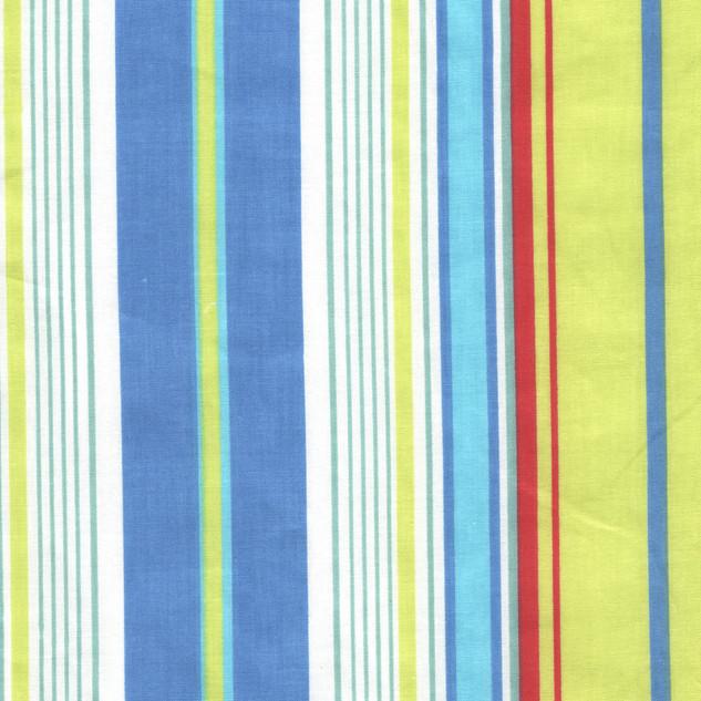 Bright Blue Green Stripe