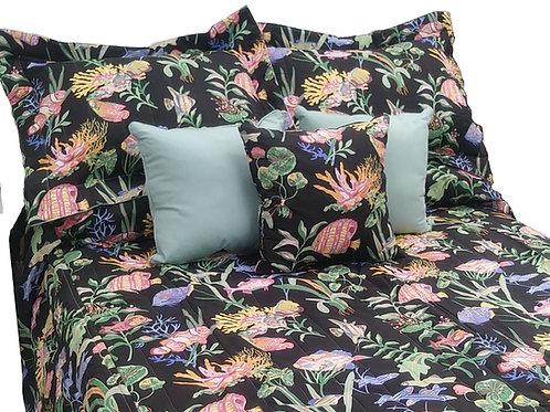 Black Fish Pillow