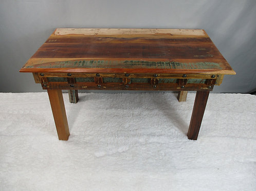 Antiqued Rectangle Reclaimed Wood Coffee Table (MDA-20-136)