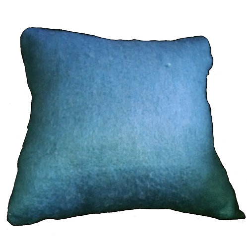 Blue Woven Blend Throw Pillow