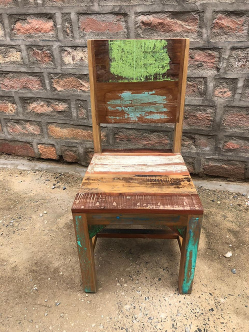 Indian Reclaimed Wood Chair