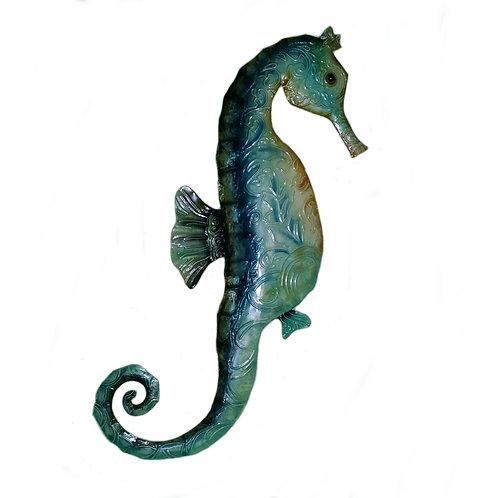 Blue Seahorse Wall Decor