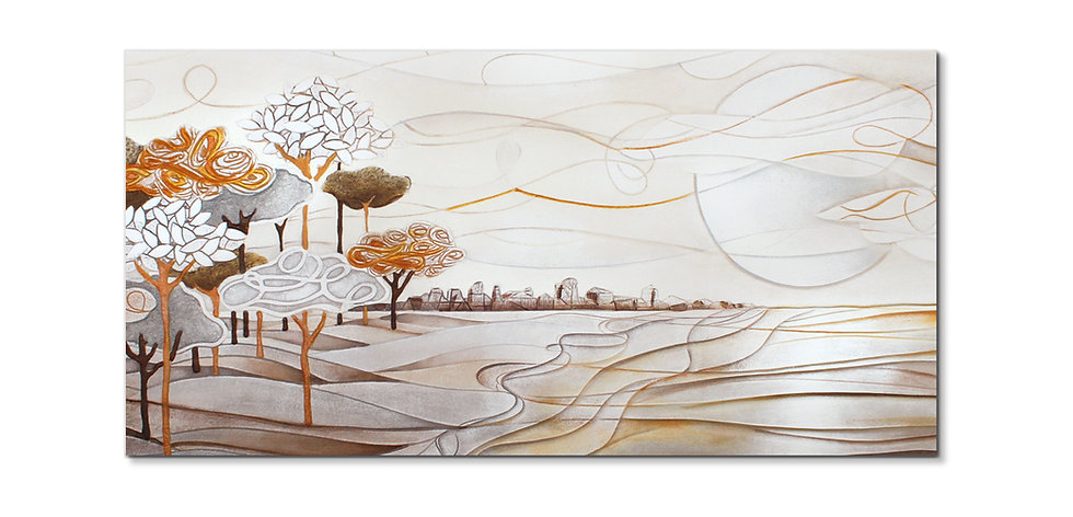 """""""Un Nuovo Giorno"""": quadro 100x50 cm"""