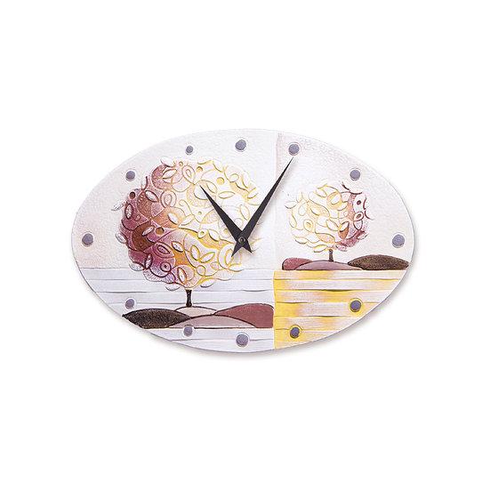 """""""Un Nuovo Orizzonte"""": orologio da parete 40x25 cm"""