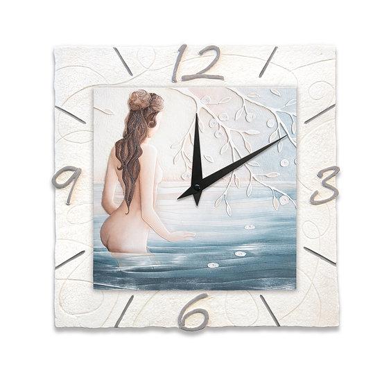 """""""Luce"""": orologio da parete 40x40 cm"""