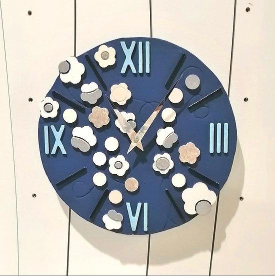 """Fuori Catalogo """"Seta"""": orologio da parete Ø 30 cm"""