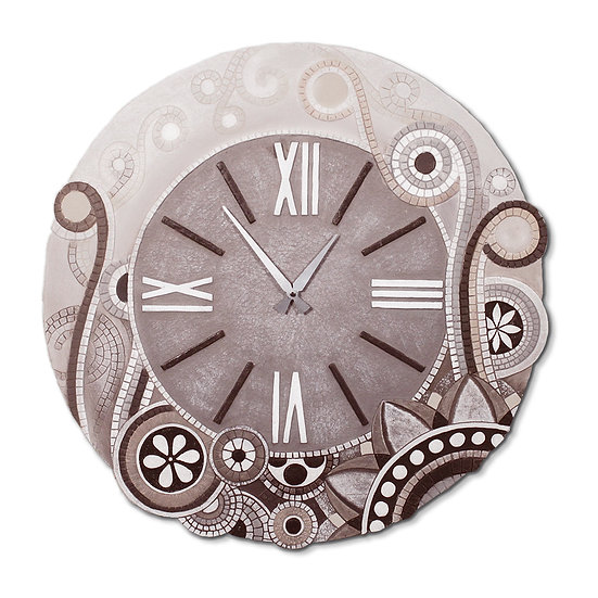 """Eclettica"": orologio da parete ø 70 cm"