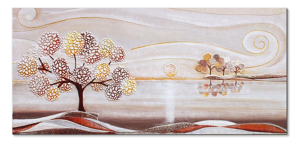 """""""Un Posto Tranquillo"""": quadro 150x70 cm"""