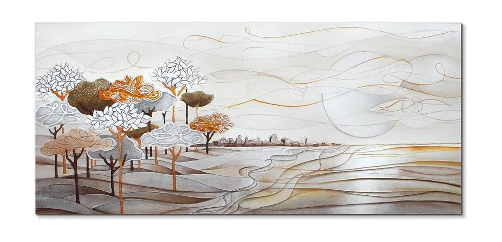"""""""Un Nuovo Giorno"""": quadro 140x63 cm"""
