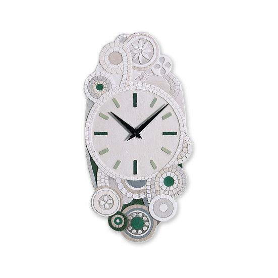 """""""Eclettica"""": orologio da parete 22x45 cm"""