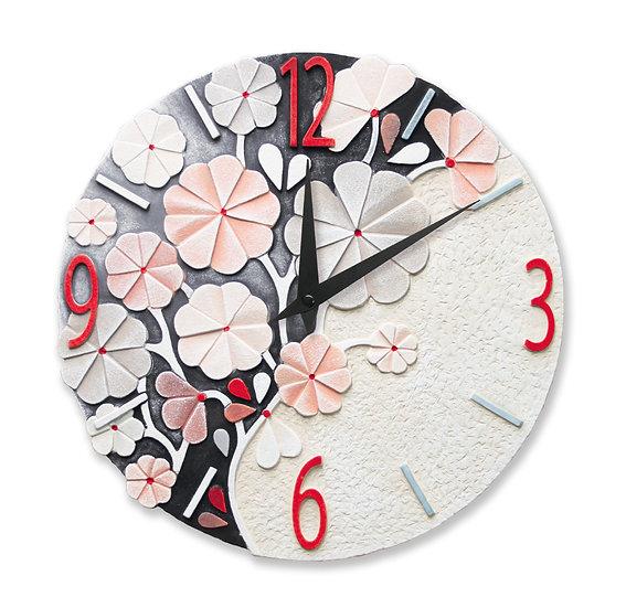 """""""Rugiada"""": orologio da parete ø 45 cm"""