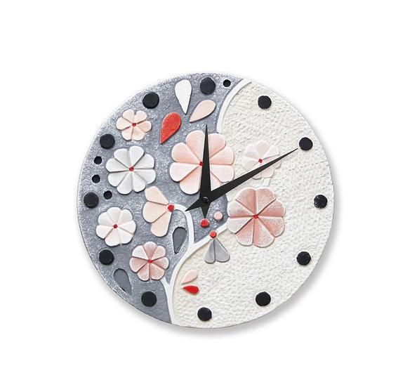"""""""Rugiada"""": orologio da parete ø 30 cm"""